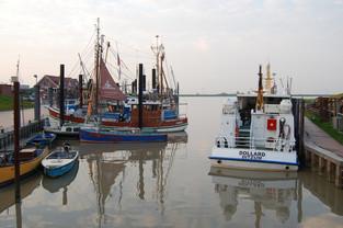 Kutter im Hafen von Ditzum